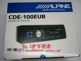 Wholesale car dvd Alpine cde eub car cd player aux usb host function