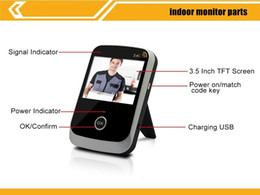 Wholesale Wireless Peephole Video digital Door bell viewer Phone doorbell with Batteries for security Monitor and Transmitter G