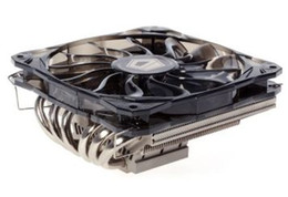 Original new ID-COOLING 1 12cm PWM fan 6 heatpipes thin CPU cooler IS-60 for LGA115X 775 & AMD all sockets on ITX motherboards