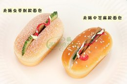 Wholesale Artificial Sandwhich Model Set Resturant Sample Home Decoration Artificial Sandwhich