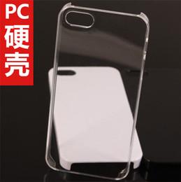 Cas transparents pour iphone 4s à vendre-Cas de téléphone en plastique en plastique dur Couverture Phone Etui Cristal Transparent Matériel pour iPhone4 / 4S, 5 / 5s, iPhone6 (4.7), ainsi que iPhone6