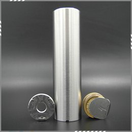 Wholesale Top Quality Praxis Full Mechanical Mod High Grade Stainless Steel Material Vapor Praxis Mod Clone fit battery Atomizer DHL Free