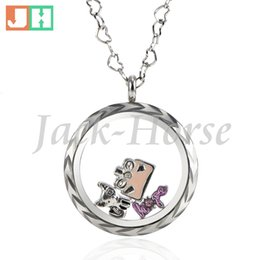 Free shipping stainless steel newest fashion floral designs glass living charm locket pendant waterproof pendant women