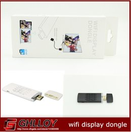 TV Stick Miracast DLNA WIDI airplay Wifi Display Dongle Wireless Share Push Receiver Adapter For ios Android smart phone