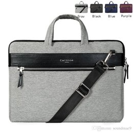 Wholesale Cartinoe Macbook inch Sleeve Shockproof Premium Laptop Notebook Carrying Messenger Shoulder Bag Briefcase Handbag Sleeve for Macbook