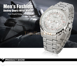 Wholesale Deluxe Curren Celebrity Executive Master Silver Steel Speed Sports Mens Watch
