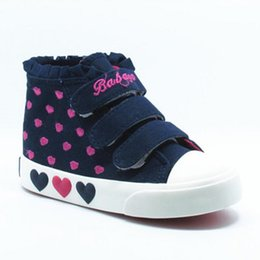 2015 Autumn Brand Female Children Shoes Girl Canvas Shoes Kids Sneakers Size 23 - 37