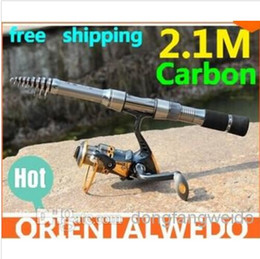 Wholesale fishing rod carbon lure rod spinning telescopic fishing rods fishing pole Power fishing tackle tool hight quality