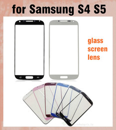 Outer Front Glass Lens Screen Digitizer Touch Screen Cover touch panel screen protector For Samsung Galaxy S4 S5 Multi color SNP009