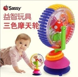 Wholesale Sassy Developmental Wonder Wheel For Infant Boys Girls Toys Early Education Kids Baby Colorful Multi touch Inspire Senses Toy H2463