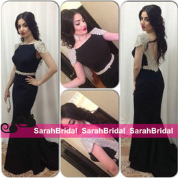 Wholesale Cheap Bridesmaid Dresses Crystals Custom Made Arabic Celebrity Carpet Evening Gowns Vestidos Para Tarik Ediz Style Formal Prom Wear