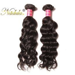 Nadula Brazilian Natural Wave Hair 3Bundles Human Remy Hair Extensions 8-26inch Natural Hair Weave Double Weft Wholesale Cheap