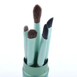 Wholesale Professional Eye Shadow Brush Set Makeup Brushes Tools Makeup Kits Natural Animal Hair Cosmetic Brush Set Y50 MHM534 S2