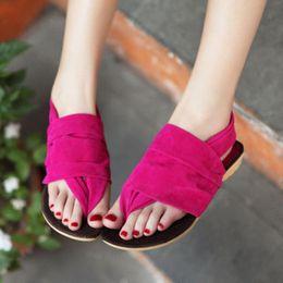 Wholesale 2015 summer new Korean fashion leisure breathable flat thong sandals women sandals alternative style Women s Shoes