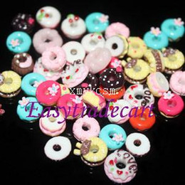 New Arrival 50pcs pack 13 Types 3D Nail Art Decorations For Manicure Cute Resin Sweet Circle Decorations For Nails