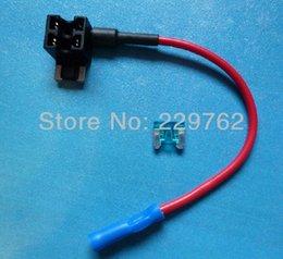 Wholesale ACN Add A Circuit Fuse Tap Piggy Back MINI Blade Fuse Holder Socket ATM APM v