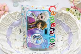 Caméras pour les filles à vendre-Caméra gros-Célèbre Cartoon Film Princesse AnnaElsa Jouet drôle Jouer Maison Jouets bon cadeau pour les filles