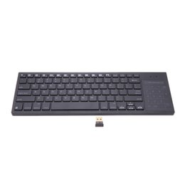 Wholesale iPazzPort Ultra Slim Bluetooth Wireless Keyboard with Touchpad Multi color Backlit for Mac Windows Computer Android iOS Media C2072