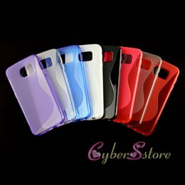 Wholesale For Galaxy S6 Edge S Line TPU Soft Gel Rubber Phone Case For Samsung G9200 S5 Note S2 S3 S4