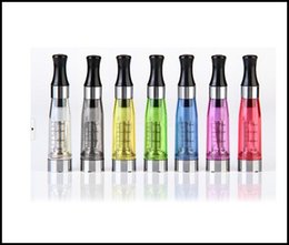 Hot sale Ego CE4 tank CE4 Atomizer for Ego t E-cigarette Clear clearomizer 1.6ml Various Colors instock fast DHL