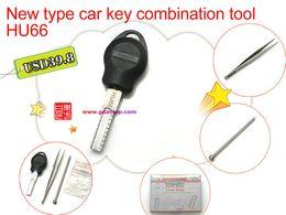 Wholesale HU66 New type car key combination tool accessories Car key restructuring tool HU66 FOR VW HU66 key molding tool