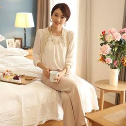 w1025 Best-seller Women Lady Vintage Long Sleeve Sheer Tops Lace Shirt Chiffon Blouse 5108