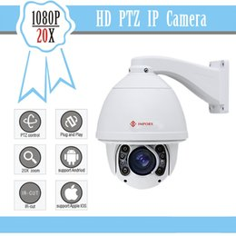 Wholesale FULL HD P PTZ ip Camera x optical zoom Security cctv ip camera system
