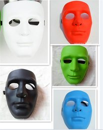 500pcs new 5 designs full face masks Halloween Masks Jabbawockeez mask festive party masquerade masks women men masquerade masks D385