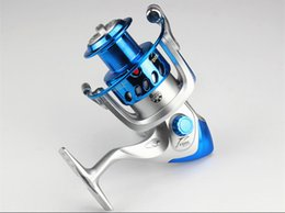 Wholesale Useful Fishing Spinning Reel Fishing Spinning Reel Shimano BB Fishing Reels Silver And Blue Colors