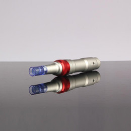 Dermapen Wireless Derma Pen Rechargeable 2 Batteries Ultima A6 Medical Dr.pen Electric Derma Pen Micro Needle Pen for beauty salon use