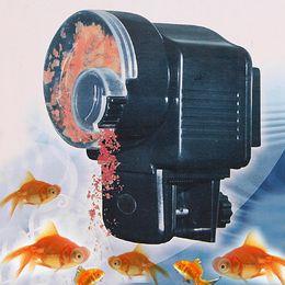 Wholesale Digital Automatic Auto Aquarium Pond Fish Feeder Food Retail Dropshipping H4159