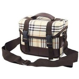 2014 New Fashion Vintage Leather camera bag Messenger bag for DSLR Camera and lens For Sale