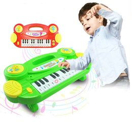 Wholesale New Baby toys Baby kids Elcetrolic Piano Keyboard oargn Education Musical toy Cartoon Children gifts