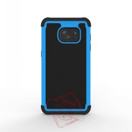 New Robot Hybrid 2 in 1 Cases Rugged Armor Defender Silicone Cover For Samsung galaxy S7 S7 edge