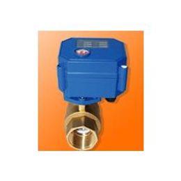Wholesale Full Bore mm Brass Mini Electric Ball Valve CWX Q N CR01 CR02 CR05 Control Type V V