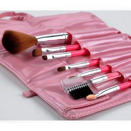 Wholesale akeup Tools Accessories Makeup Brushes Tools Brushes Wood Holder set Beauty Makeup Make up Brushes Whole Foundation Makeup Brush wi