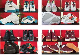 Wholesale 10 c VII Retro Shoes Marvin The Martian Basketball Shoes retro Basketball Boots Mens women Athletics Cheap Barcelona Nights Sports Shoes