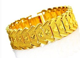 chaming yellow gold chain men's bracelet (pfmcgy88) rfgdrgf