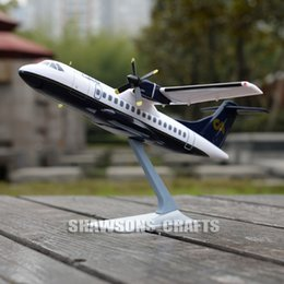 Wholesale PLANE MODEL SCALE COLLECTOR AIRCRAFT ATR AIRLINER REPLICA