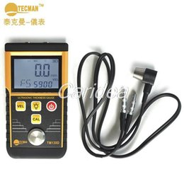 Wholesale Teichman TM130D Ultrasonic Thickness Gauge Steel plate copper plate glass PVC pipe thickness measurement