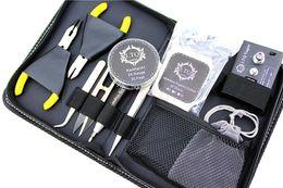 Original LTQ Portable RDA tool kit rda tools rebuild kits Ceramic Tweezers for Vape Mods RBA RTA Coils Atomizer DIY Retail