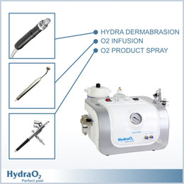 Wholesale 2015 HydaO2 Professional SPA Oxygen Infusion Hydra Dermabrasion Facial Rejuvenation Machine