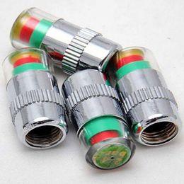 Wholesale 4x tyre valve caps Sensor Indicator Tyre Pressure Monitor Valve Stem