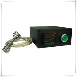 Wholesale super enail digital temperature controller electric dab nail glass bong glass water pipe mm coils electric nail