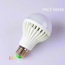 NOTICE New High Quality Hot Sale LED E27 ampoules Lampes 3/5/7 / 9W SMD LED Ampoules Pure / Chaud Blanc éclairage intérieur de la salle d'éclairage LED Ampoules Lampes à partir de avis dirigés fournisseurs