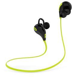 Wholesale Mini Wireless Stereo Bluetooth Sport Headset Best Bass Cordless earpiece Mp3 Player HeadPhones For iphone Samsung Xiaomi