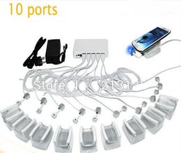Wholesale factory price DHL air shipping mobile phone retail store port alarm and charging security display system