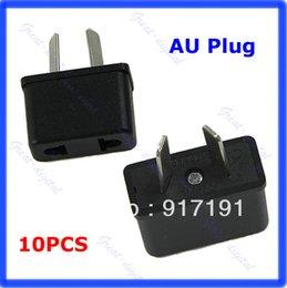 Wholesale US EU To Au Australia Ac Power Plug Adapter Socket v Outlet Travel Converter order lt no track