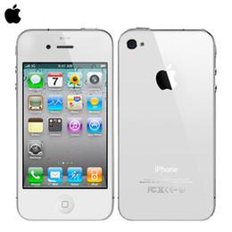 Wholesale DHL original Apple iphone cell phone factory Unlocked MP Camera GB ROM Wifi GPS WCDMA G year warranty