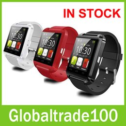 Wholesale Smart Watch U8 Bluetooth Altimeter Anti lost inch Wrist Watch U Watch For Smartphones iPhone Android Samsung HTC Sony Cell Phones